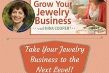 Jewelry Business Resources / Improve your business, foster creativity and keep your brain hopping with these books & blog posts! / by Nina Designs.com