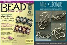Press / See How Nina Designs Jewelry Making Supplies are Used in Popular Magazines! Click through for Parts Lists. / by Nina Designs.com