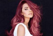 CRAZY COLORFUL HAIR / by Sarah Stefek