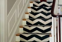 Home Decor: Staircase / They don't need to be so boring! / by Jenna Kane