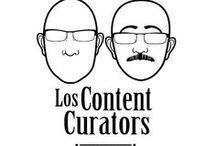 los content curators / cosas diversas de loscontentcurators en acción: Javier Guallar y Javier Leiva / by Javier Guallar