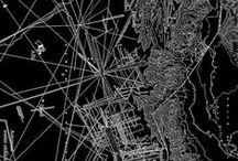 maps and travel illustration