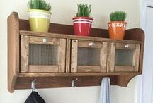 Entryway / DIY Project Ideas, Plans and Tutorials for the Entryway / by Kreg