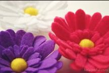Felt Crafts / You can do so many things with felt.....love it.