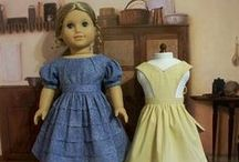 "American Girl Historical to 1899 / Ideas for 18"" doll clothes, accessories, play sets and more. / by Educare Homeschool"
