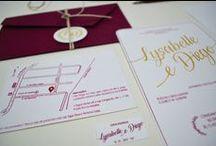 convites de casamento / papelaria e identidade visual para o grande dia.