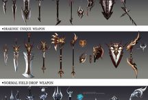 Weapons to draw