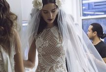 Sheer transparent wedding dresses and veils - For bohemian and vintage brides and weddings / Sheer transparent wedding dresses and veils.
