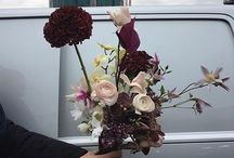 Bohemian wedding bouquets - Wild and modest