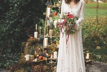 Autumn Fall Harvest bride - For bohemian and vintage brides and weddings / Wedding inspiration and bride inspiration for autumn brides and wedding.