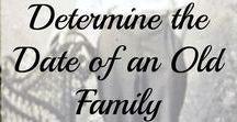Genealogy - Photographs for Family History - Pinterest / Photographs I Old Photographs I Photography I Images I Preserve I Heritage I Slide I Negative I Camera I Heirloom I Organization I Organize I Store I Scan I