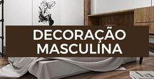 Decoração Masculina / Deixa a sua casa mais estilosa com essas fotos de inspiração de decoração.