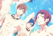 "Iwatobi Swim Club / ...Maybe I should just rename this board to ""I ♥ SHARKIE! NOTICE ME MATSUOKA-SENPAI!!!!"""