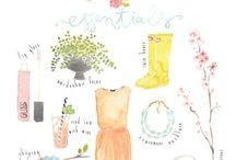 Illustration : Season & Weather