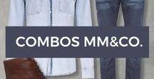 Combos MM&Co. / Inspire-se em nossos combos e compre agora mesmo as peças para montar seus looks.