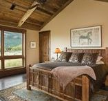 Cozy Bedrooms / Curl up with a good magazine in one of these cozy bedrooms.