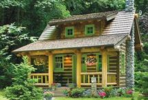 Exterior Splendor / Curb appeal can't accurately describe the beauty of these log homes.