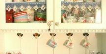 süslü  mutfak dekorları