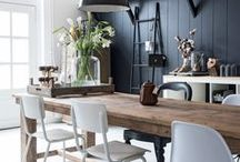 Home Decor & Interior / How to decorate your home and make it cozy and inviting. Inspiration for creating a country & Scandinavian style.
