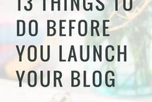 Blogging Inspiration / How to make your blog a success. Inspiration for succesful blogging.
