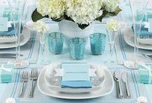 Wedding- Beach & Blues / Beach Wedding, Bohemian, wedding ideas, Blue wedding, wedding