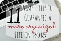 Organization Tips / Tips and Tricks that will make your life easier!  #organization #tips / by Blessed Beyond a Doubt