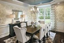 Dream Home Interiors / These designs scream perfection. Spaces that evoke emotion, create feeling and exude personality.  / by Mary Cook Associates