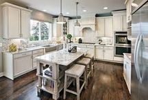 Inspiring Kitchens / The kitchen is often the focal point of a home. They bring people together and create memories based on comfort and emotion.  / by Mary Cook Associates