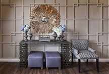 Pattern & Texture / Pattern and texture are enhancers. When you add them, they take their surroundings to a higher level of quality and impact. They can transform a room from something flat and bland into something three-dimensional, deep, and delectable.  / by Mary Cook Associates