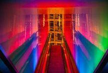 S p e c t r u m. / Just a pin board of bright color!