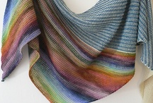 Knit - Shawls / by anemone