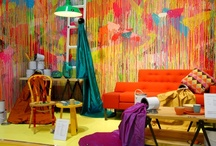 Design Future `Colour Visions' VIVID / #VIVID colours with bold design statements -crafting contemporary decoration ideas.