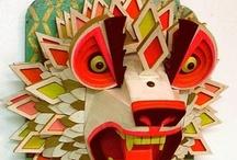 masks / amazing hand-made masks