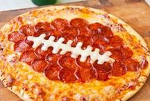 Football Parties / Recipes, DIY and table decor for football viewing parties