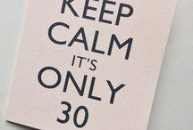 Dirty thirty / Alyssa's 30th party ideas!!
