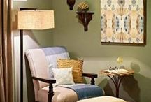Vignette Styling / In the world of interior design, a vignette is a group of objects that become a focal point for a room or space. These arrangements can be attention grabbing and tell a story about the space.  / by Mary Cook Associates