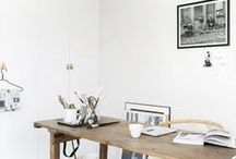 Office. / Inspiration for a perfect desk ans office at home.