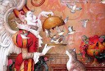 Daniel Merriam / Daniel Merriam ~ Watercolorist Extraordinaire