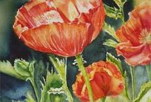 Annette Straugheir /  Annette Straugheir is a Wellington born artist of Dutch heritage with a passion for painting landscapes and a love of painting exotic flowers and portraits in watercolour and acrylic. Annette is a member of the Wellington Art Club and Watercolour New Zealand, she has exhibited  at various locations and exhibitions in Wellington.
