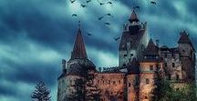 Count Dracula CastleTransylvania Romania ❤ / Home of Count Dracula in  Transylvania, Romania-travel inspiration