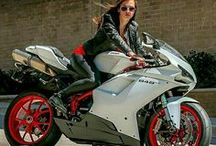 Hot Girls and Hot Rides / Sexy girls with bikes and cars etc.