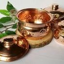 Kitchen & Serving / Copper turkish handmade. Serving dishes.