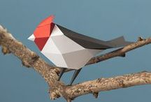 Origami art / The origami art inspired Vivien Muller in its creations like Plume or Coin-coin.