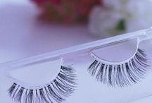 069 Human hair false eye lashes / Beautiful False Human hair lashes that are naturally sterilized
