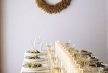 Dinner parties / Quickie entertaining for friends.