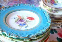 Antique China and For Now, Crystal, Porcelaine