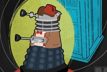 Daleks in Disguise / Daleks disguised as Dr. Who. How diabolical! / by Murphypop