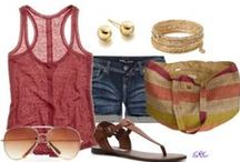 Summer Outfits / Modest clothing options that are trendy, but cool enough for GA weather.