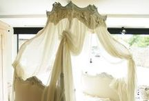Bedrooms, Bed Canopy's,Bedding and Closets / Antique to Modern / by Andrea Smolensky