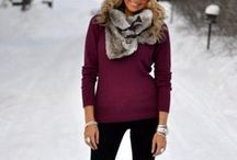 Winter / Modest clothing options that are trendy. Lots of layering for when you get hot in a heated room.